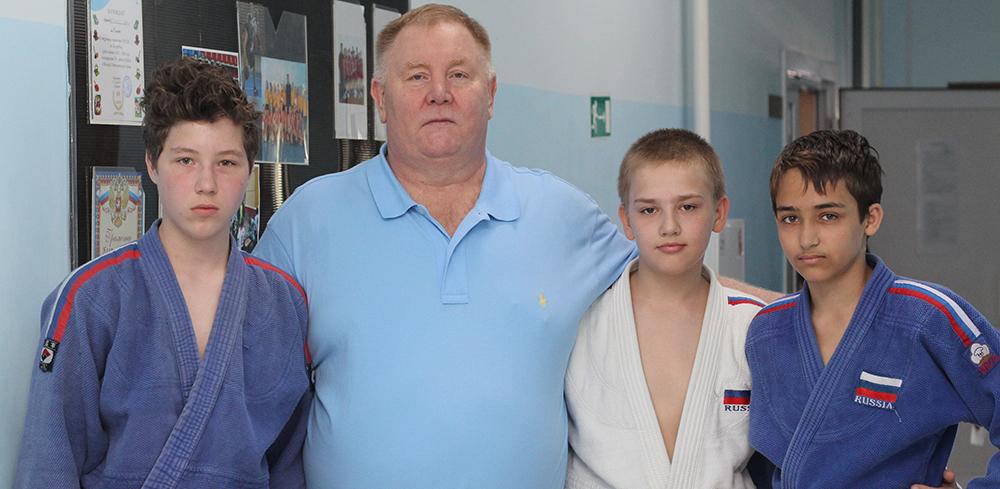 В Мичуринск приехал пятикратный чемпион мира по самбо