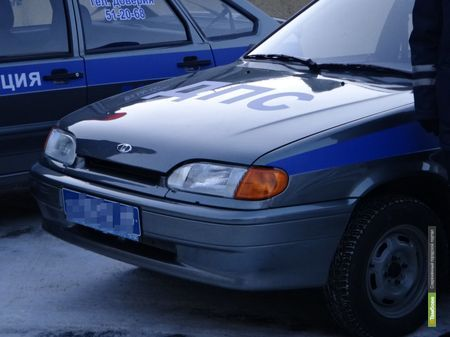 Тамбовский автомобилист сбил полицейского