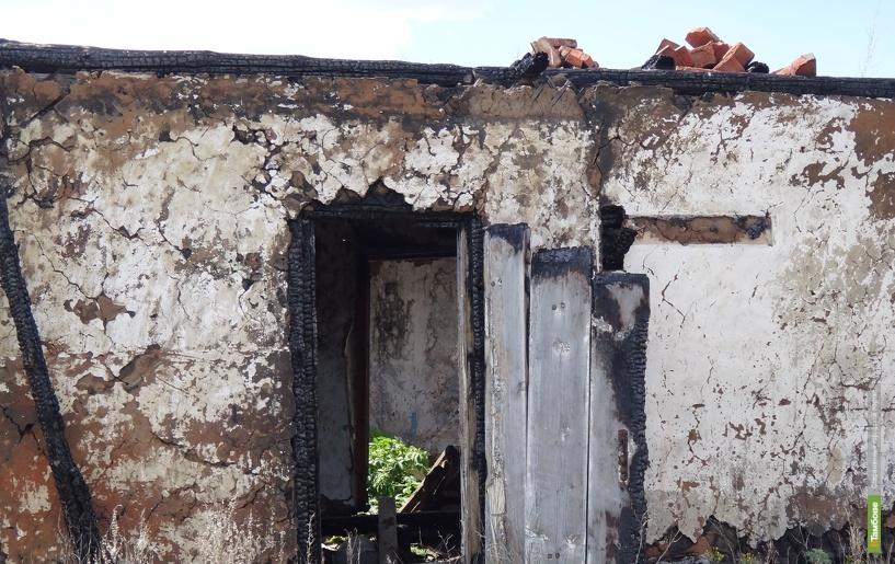 В Токаревке на пожаре сгорел пенсионер