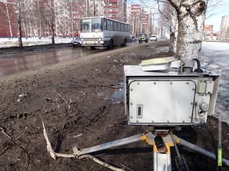 На Рылеева установили «ловушки» для водителей
