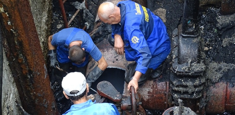 Почти весь Котовск остался без холодной воды: в городе устраняют коммунальную аварию