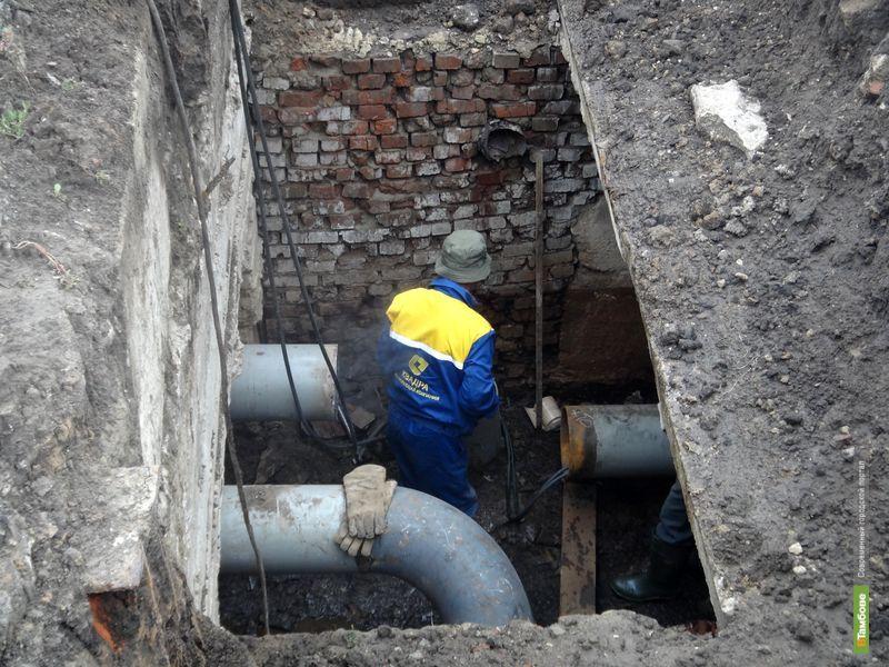В тамбовских многоэтажках ожидаются перебои с горячей водой