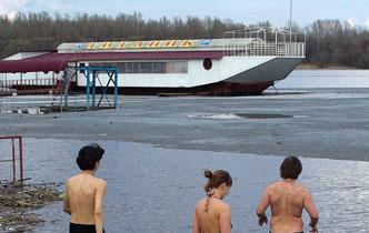 """Тамбовчане устроили заплыв в память о """"Титанике"""""""