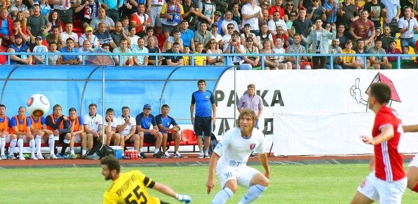 Матч ФК «Тамбов» с командой из Хабаровска стал вторым по посещаемости в ФНЛ