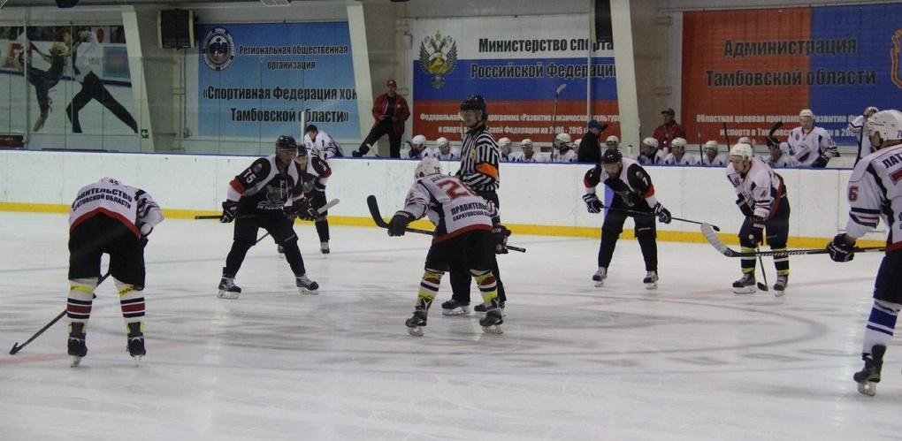 Тамбовские хоккеисты разгромили «Кристалл» на домашнем льду