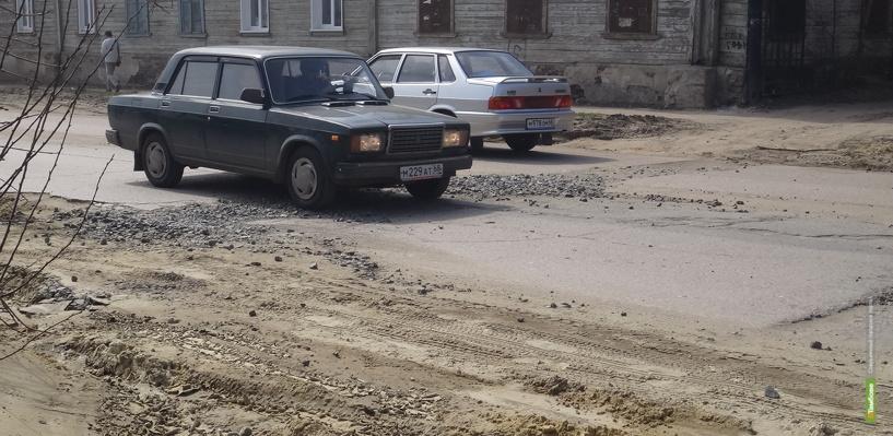 Тамбов оказался на 26 месте в рейтинге убитых дорог в Центральной России