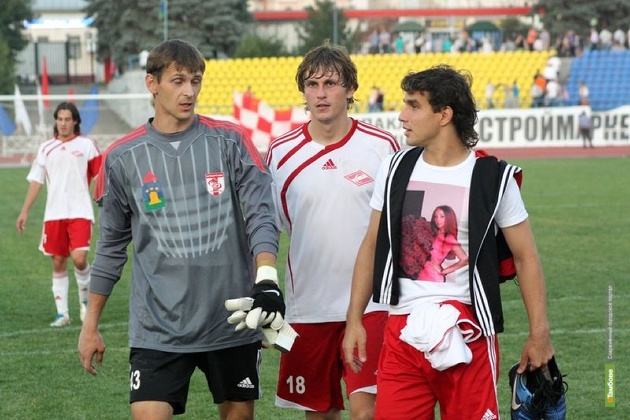 Первая игра сезона обернулась для тамбовского «Спартака» проигрышем
