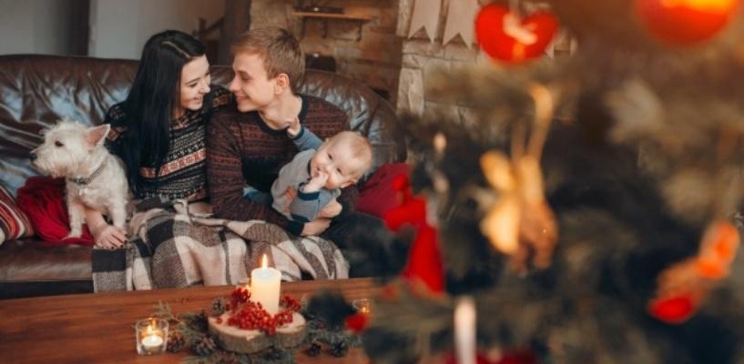 50% россиян проведут новогодние праздники дома
