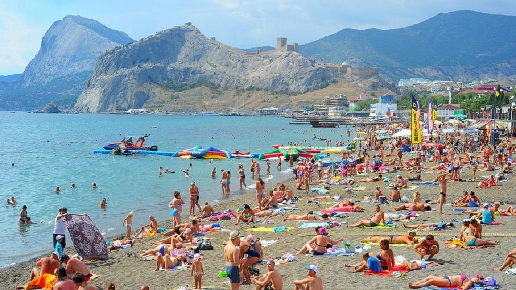 Крым принял ссамого начала года неменее 5 млн. туристов