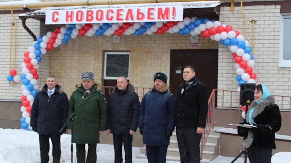 300 тамбовских военнослужащих получили ключи от новых квартир