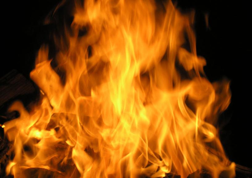 В новогодние каникулы в области произошло 25 пожаров