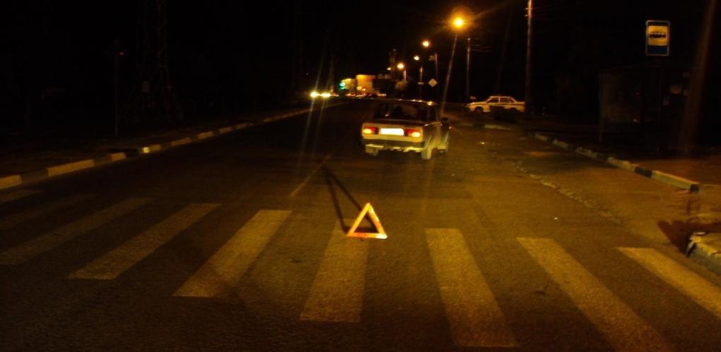 Пожилой водитель «пятёрки» сбил женщину на пешеходном переходе