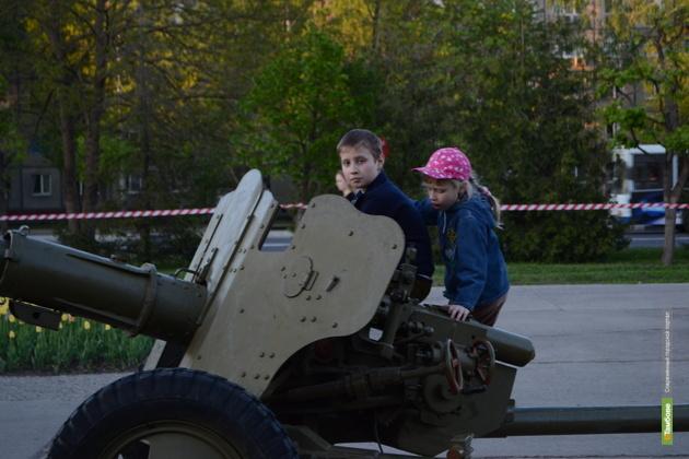 Тамбовскому Парку Победы нужны новые экспонаты