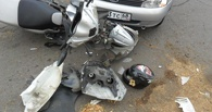 В Мичуринске в ДТП пострадал молодой скутерист