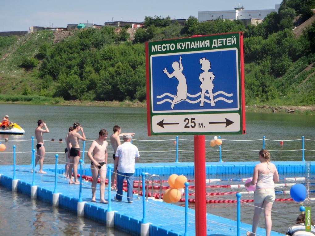 30 человек погибли летом на тамбовских водоемах