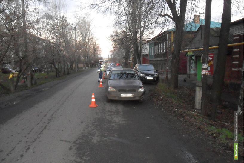 В Мичуринске под колёсами «Приоры» очутился подросток