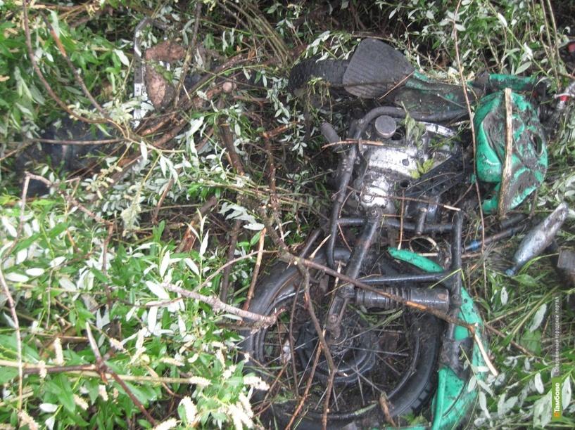На Тамбовщине в аварии погиб мотоциклист