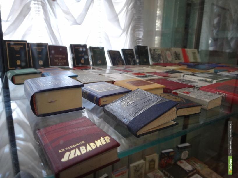 Тамбовчанам показали книжки-малышки