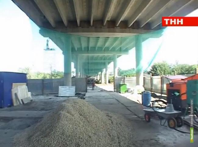 Ремонт моста на Пехотку растянется на полтора года