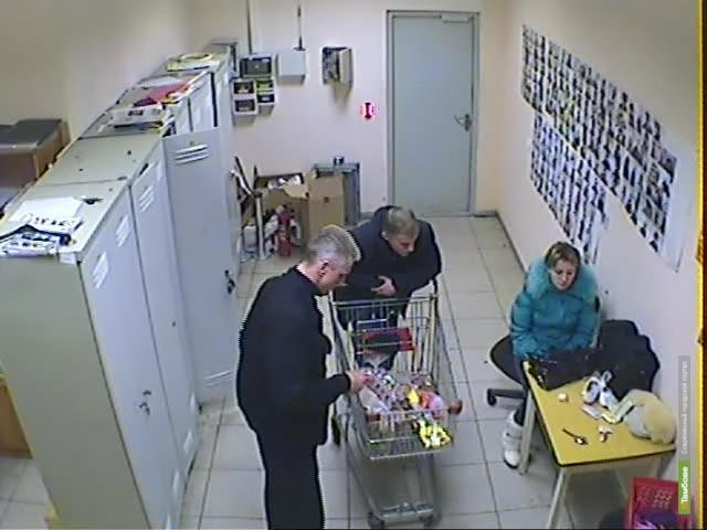 В Тамбове семейная пара попалась на краже товаров