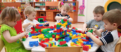 Количество мест в тамбовских детсадах превышает число воспитанников