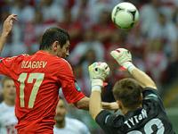 Евро-2012: Россия и Польша сыграли вничью