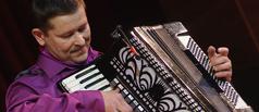 В зале учебного театра ТГУ прозвучали мелодии «Веселого аккордеона»