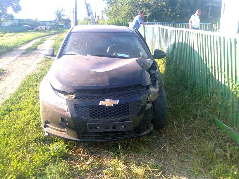 В Бондарском районе в аварии пострадал трехлетний ребенок