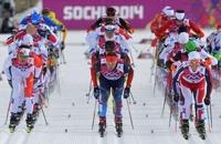 Обидно: российскому лыжнику не хватило одной десятой до олимпийской медали