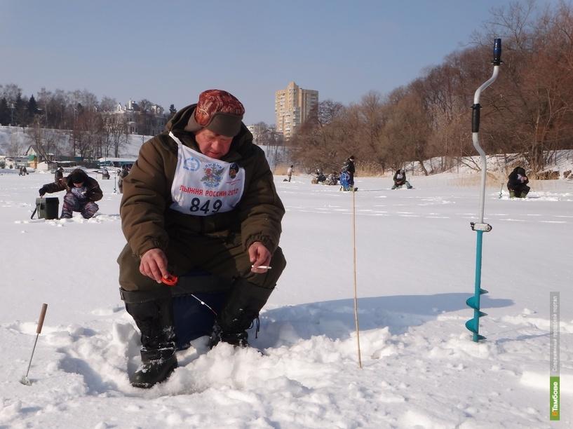 Тамбовские рыбаки выйдут на лёд