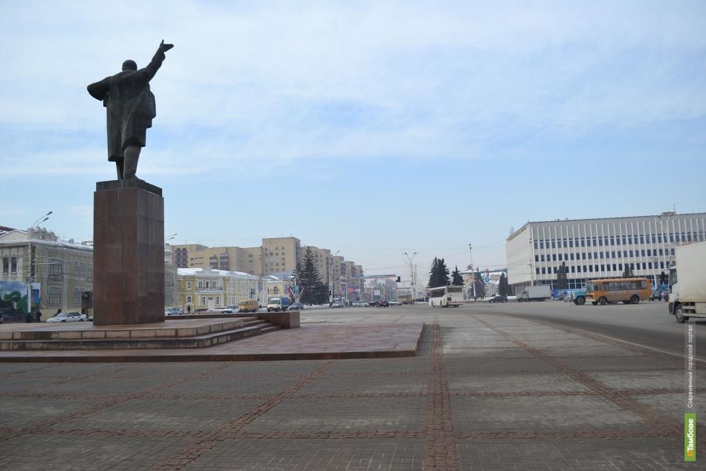 К Дню народного единства центр Тамбова закроют для авто
