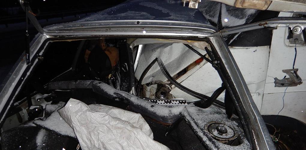 Водитель легковушки скончался после столкновения с «Газелью»