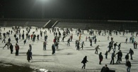 За новогодние каникулы около 20 тысяч человек посетили крупные спортивные объекты