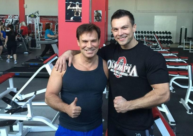 Ефим Шифрин потренировался в тамбовском фитнес-клубе