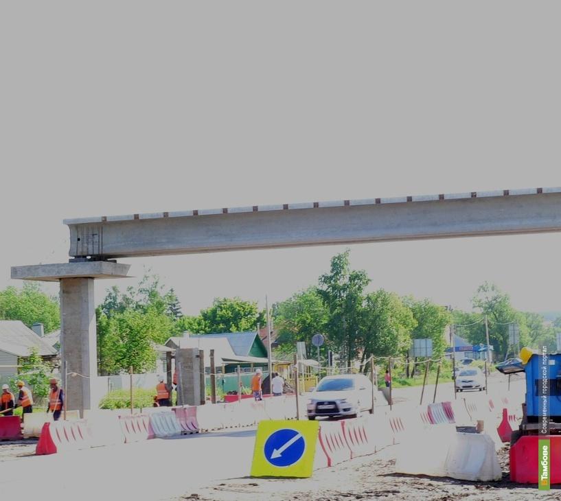 Надземные пешеходные переходы на М6 тамбовчане увидят уже в сентябре