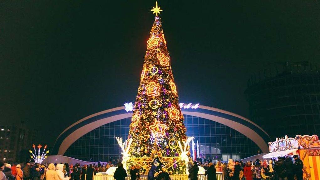 Да здравствует Новый год! В Тамбове открыли резиденцию Деда Мороза и дали старт праздничной кампании