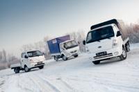 KIA Bongo vs Hyundai Porter vs BAW Tonic: битва грузовичков