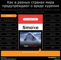Надписи на сигаретах могут сменить устрашающие картинки