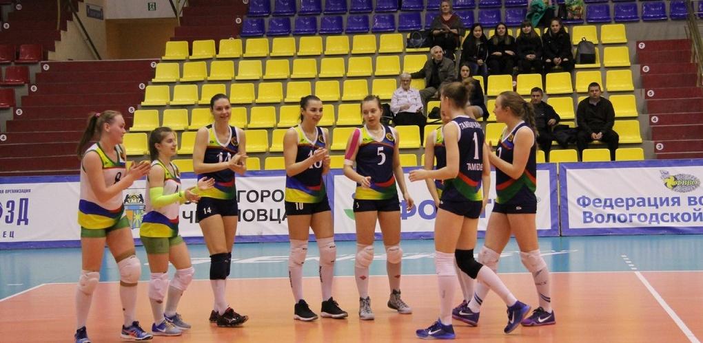 Тамбовские волейболистки одержали очередную победу