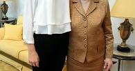 Тамбовчанка встретилась с супругой первого президента России