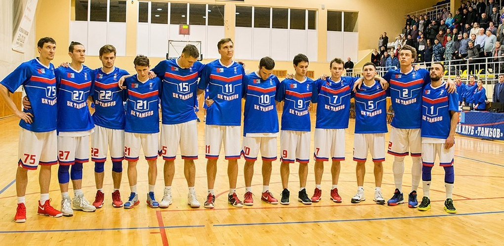 БК «Тамбов» проведет три домашних матча