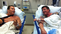 Шварценеггер и Сталлоне встретились на операционном столе