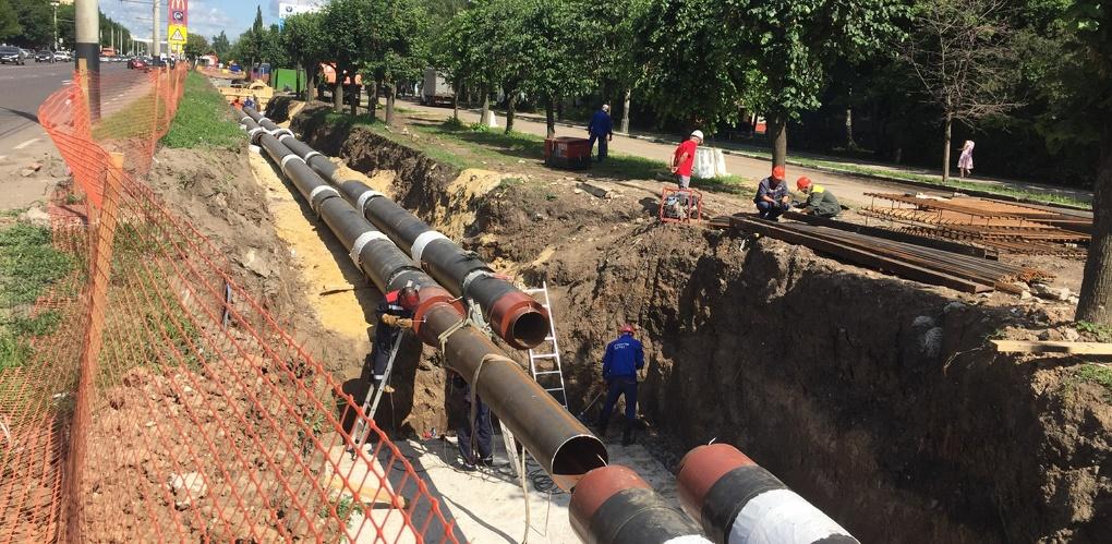 Масштабная реконструкция тепломагистрали на Мичуринской завершена