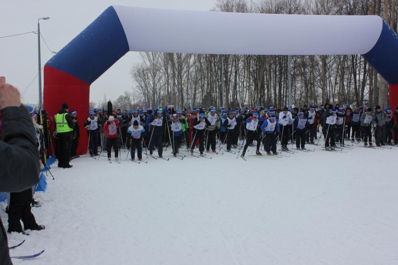 На «Лыжне России» в Тамбове собралось более 4 тысяч участников