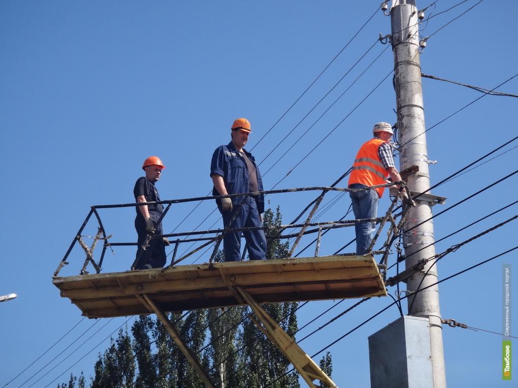 10 миллионов рублей в Тамбове потратят на замену электропроводов