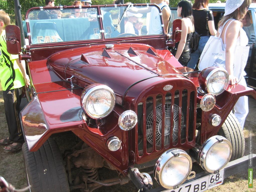 Тамбовчане увидят выставку авто из «Голубого коридора»