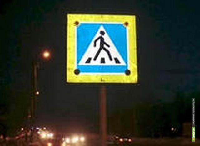 Дороги Тамбовской области оснастят светоотражающими элементами