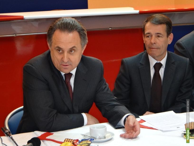 Виталий Мутко обещал Тамбову денег на ремонт «Кристалла»