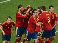 Третьим полуфиналистом Евро-2012 стала Испания