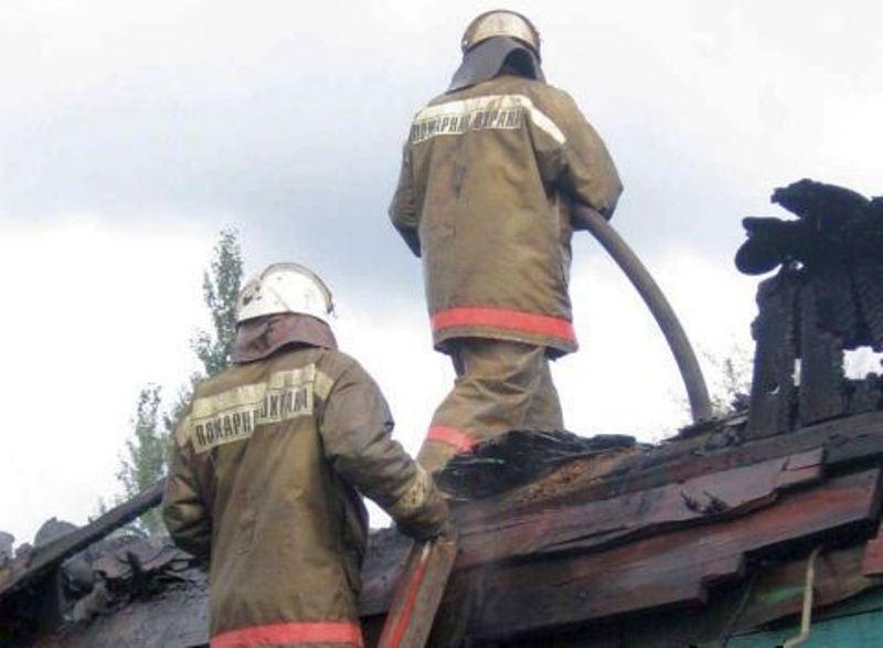 В Моршанске на пожаре пострадал человек